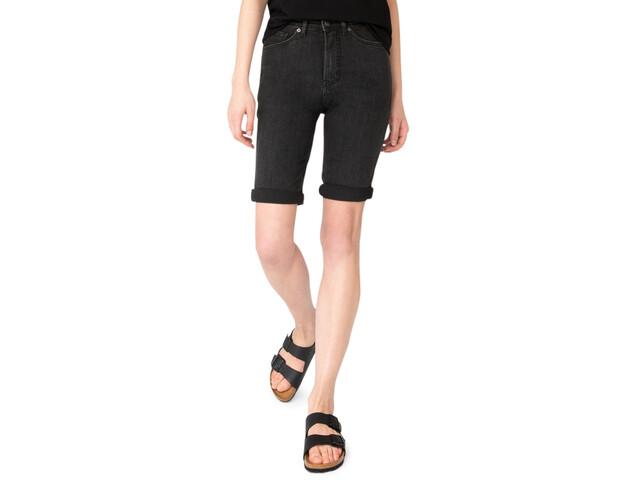 DUER Performance Denim Commuter Shorts Damen black 75